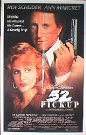 52 PICK UP  original issue folded 1-sheet movie poster