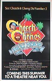 CHEECH & CHONGS NEXT MOVIE original issue folded advance 1-sheet movie poster