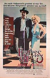 ANGELS IN HELL HUGHES AND HARLOW original issue folded 1-sheet movie poster