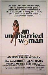 AN UNMARRIED WOMAN original issue folded 1-sheet movie poster