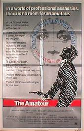 AMATEUR, THE original issue folded 1-sheet movie poster
