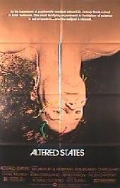 ALTERED STATES original issue folded 1-sheet movie poster