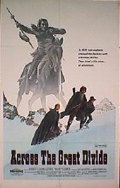 ACROSS THE GREAT DIVIDE original issue folded 1-sheet movie poster