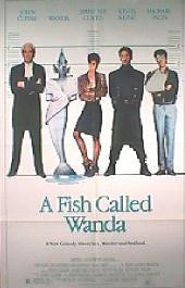 A FISH CALLED WANDA original issue folded 1-sheet poster