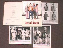DREAM TEAM original issue movie presskit