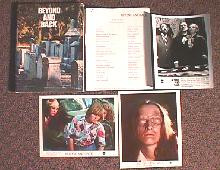 BEYOND AND BACK original issue movie presskit