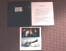 EXECUTIVE DECISION original issue movie presskit