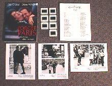 FORGET PARIS original issue movie presskit