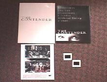 CONTENDER, THE original issue movie presskit