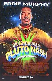 ADVANTURES OF PLUTO NASH original issue rolled double sided 1-sheet movie poster