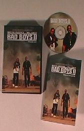 BAD BOYS II original issue movie CD presskit