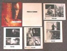 FIRESTORM original issue movie presskit