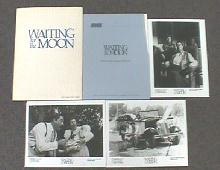 WAITING FOR THE MOON original issue movie presskit
