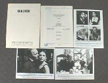 WALKER original issue movie presskit