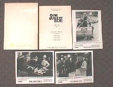 3 KINDS OF HEAT original issue movie presskit