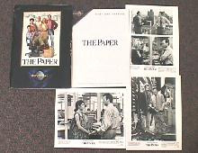 PAPER, THE original issue movie presskit