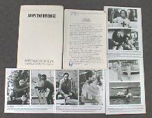 JAWS THE REVENGE original issue movie presskit