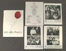 IT'S MY PARTY original issue movie presskit