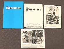 HOUSE GUEST original issue movie presskit