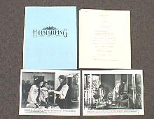 HOUSEKEEPING original issue movie presskit
