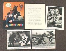 HOT TO TROT original issue movie presskit