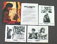 HOT SHOTS part deux original issue movie presskit