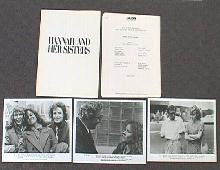HANNAH AND HER SISTERS original issue movie presskit