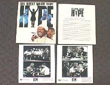 GREAT WHITE HYPE original issue movie presskit