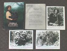 GORILLAS IN THE MIST original issue movie presskit