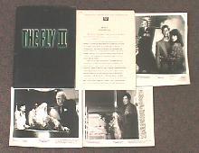 FLY II, THE original issue movie presskit
