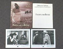 FLESH AND BONE original issue movie presskit