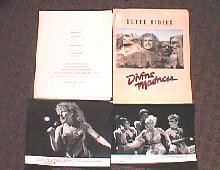 DIVINE MADNESS original issue movie presskit