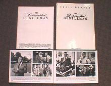 DISTINGUISHED GENTLEMAN original issue movie presskit
