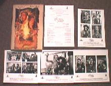 CUTTHROAT ISLAND original issue movie presskit