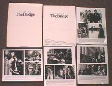 CROSSING THE BRIDGE original issue movie presskit