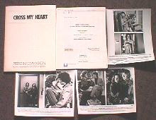 CROSS MY HEART original issue movie presskit