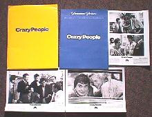 CRAZY PEOPLE original issue movie presskit