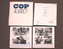 COP AND A HALF original issue movie presskit