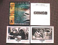 CONGO original issue movie presskit