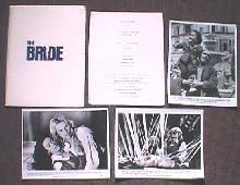 BRIDE,THE original issue movie presskit