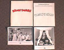 BRAIN DONORS original issue movie presskit