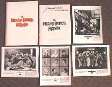 BRADY BUNCH,THE original issue movie presskit