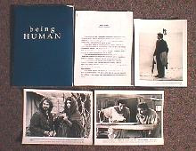 BEING HUMAN original issue movie presskit