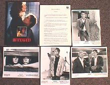 BETRAYED original issue movie presskit