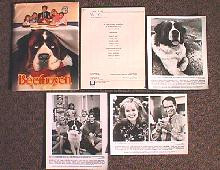 BEETHOVEN original issue movie presskit