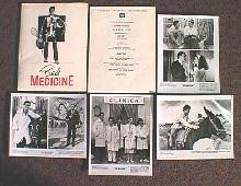 BAD MEDICINE original issue movie presskit