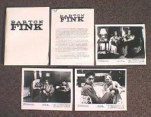 BARTON FINK original issue movie presskit