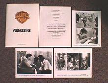 ASSASSINS original issue movie presskit