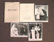 AGNES OF GOD original issue movie presskit