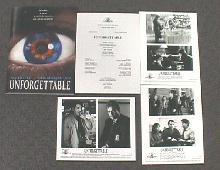 UNFORGETTABLE original issue movie presskit